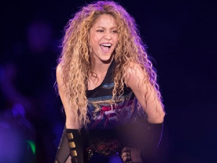 Shakira is originally from Colombia (AFP)